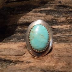 Vintage Mens Ring Large Jay King Sterling Silver Turquoise Ring Signed DTR Size 7 Heavy 6 grams Mens Rings Jewelry Unisex Ring Southwestern by YourTribeNaturesArt on Etsy