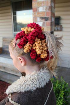 Ravelry: Summer Fun Ponytail Holders pattern by Shannon Kilmartin/The Hookeraholic Crochet