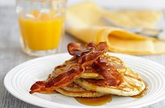 Classic American pancakes are best stacked tall and drizzled with maple syrup. Learn how to make American pancakes and see Pancake Day ideas at Tesco Real Food.
