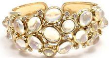 AUTHENTIC TEMPLE ST CLAIR BOMBE 18K YELLOW GOLD DIAMOND BLUE MOONSTONE BRACELET
