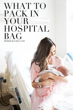 What to pack in your hospital bag #maternity #motherhood #hospital