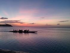 Guam Sunset: Tumon Bay Sunset as seen from Fujita Beach, Sunday, March 03, 2013.