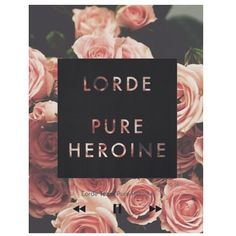 Lorde, one of the best albums I've heard this year. Such a great talent.
