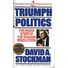 """""""This book is a must-read for anyone interested in effectively fighting the expansion of government. David Stockman gives the account of his years in the Reagan administration and tells us the sad story about why the Reagan revolution failed and the government continued to grow. There are few good guys in the book and plenty of villains. But while it is discouraging at times, it provides a very good insight into the world of politics.""""—Veronique de Rugy"""