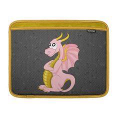 Dragon cartoon MacBook sleeve