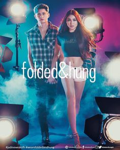 """611 Likes, 2 Comments - WELOVEJADINE OFFICIAL (@welovejadine) on Instagram: """"NEW ARRIVALS.#JaDineWearsFH @foldedandhungph campaign starring @james & @nadine is finally out!…"""""""