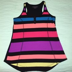 ❌Maurice's striped muscle tank top‼️ Maurice's striped muscle tank top medium size Maurices Tops Tank Tops