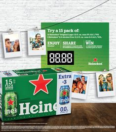 This summer Heineken is giving beer drinkers a choice of great beer taste with and without alcohol in its new and innovative 15-count multipack. The multipack includes 12 cans of Heineken Original Lager plus 3 extra cans of Heineken 0.0 at no extra charge. The innovative configuration is perfect for traditional beer drinking occasions and as a bonus provides consumers the opportunity to sample and enjoy the same great taste of Heineken Original Lager for occasions when alcohol is not… Beer Memes, Beer Quotes, Beer Humor, Beer Tasting, Opportunity, Drinking, Count, Alcohol, Product Launch