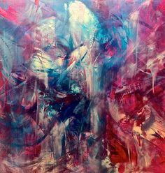 Awakenings, oil on canvas  48x48, 2013