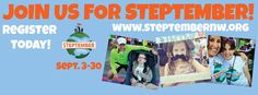 Take part in Steptember this September with Steptember Northwest, and make every move count toward helping kids with disabilities.