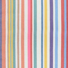 Heal's 1810 Fabric In Milo's Stripe By Paul Vogel