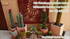 Felted Cactus Garden Workshops Whitsunday Creative Arts Festival