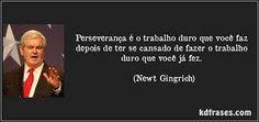 Perseverança!