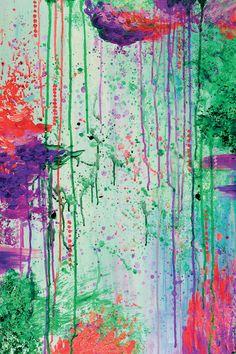 """The 90's Throwback"" By Artist Julia Di Sano, Owner/ Artist of Ebi Emporium…"