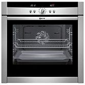 Buy Neff B45E52N3GB Slide and Hide Single Electric Oven, Stainless Steel online at John Lewis