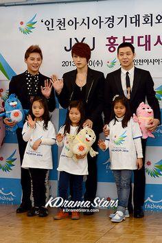 JYJ(Yoochun, Jaejoong, Junsu) Becomes Ambassadors for the '2014 Incheon Asian Games'