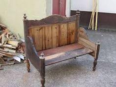 vom bett zur bank table chaise restauration et bancs. Black Bedroom Furniture Sets. Home Design Ideas
