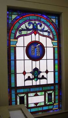 Stained Glass Windows at Friendship Baptist Church in Greenville, SC