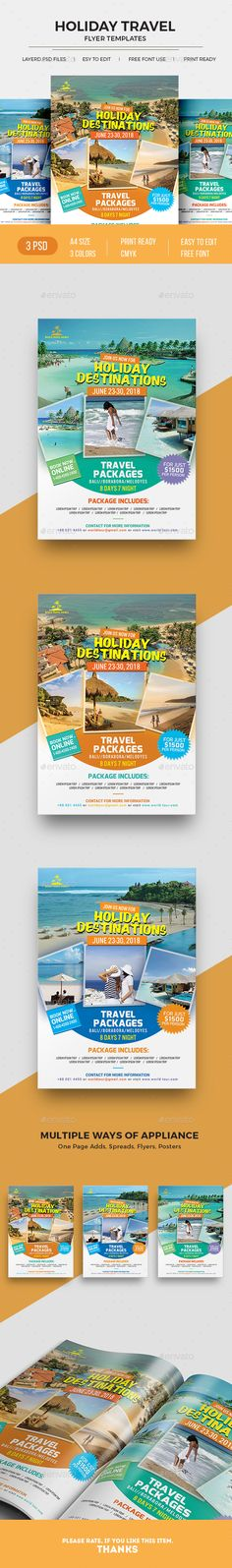 Tourism Events Calendar Flyer Template | Event Calendar, Flyer