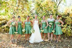 Like this color for bridesmaids dresses