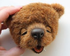 """MASTER CLASS: """"HOW TO SCULPT the NOSE [on a bear] by SVETLANA --"""