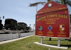Camp Pendleton Marine Corps Base Last place stationed in Marine Corp. it was my favorite place. Beach everday Had my third child there. Just a lot of great memories! Parris Island, Once A Marine, Marine Mom, Usmc, Marines, Marine Corps Bases, Places In California, Military Life, Military Service