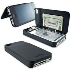 iPhone Wallet, iLid Case, Slim iPhone Wallet | Solutions. They better make this for the IPhone 5