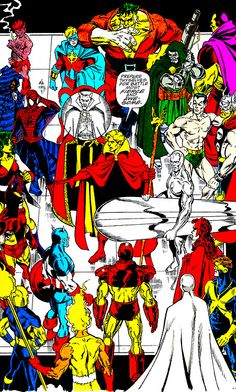 "The Infinity Gauntlet #3 (September 1991) ""Preparations For War"" Art by George Perez & Josef Rubinstein Words by Jim Starlin"