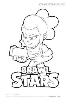 Brawl Stars Ausmalbilder - Ausmalbilder Bilder Zum Malen ...