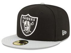 c50226ad34e New Era Oakland Raiders Team Basic Fitted Cap