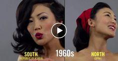 Modische Zeitreise: In nur einer Minute zeigt das Video koreanische Haartrends aus den vergangenen hundert Jahren. Im Zeitraffer wird Model Tiffany im Stil von 1910 bis 2010 frisiert.