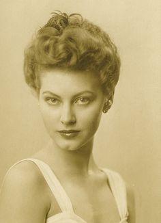 Young Ava Gardner