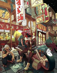 K141 | supersonicart:Kevin Hong, Illustrations. I'm...