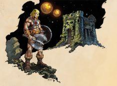 He-man And Grayskull color by NathanRosario.deviantart.com on @deviantART