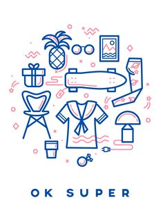 OK SUPER is a super cool brand that brings together all local designers. Now it's an online shop http://www.oksuper.pl soon to be a showroom.