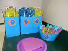 blues clues party favor bags
