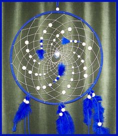 Large 14 inch Dream Catcher Full Moon July 3 2012 by austinstar, $75.00