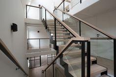 moderne stalen trap - restauratie Hoorn