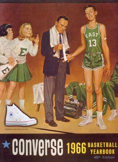 Vintage converse advertisement basket ball