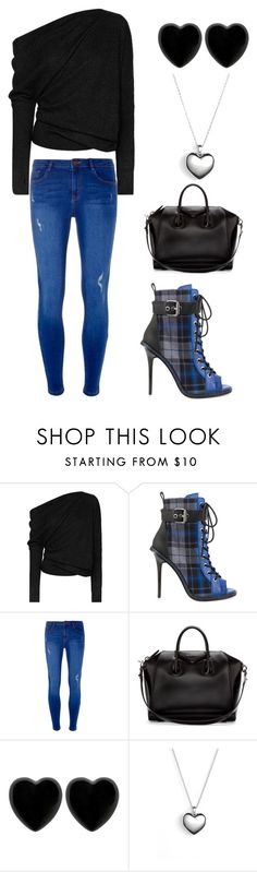 """""""Blue Black Love"""" by alphashe on Polyvore featuring Tom Ford, GX, Dorothy Perkins, Givenchy, Dollydagger and Pandora Black Love, Tom Ford, Givenchy, Pandora, Chic, Casual, Polyvore, Blue, Fashion"""