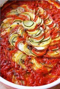 ratatouille more olive oil layered ratatouille vegan recipe vegetarian ...