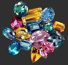 Topaz cut stones: -- Topaz Facts, Information and Description