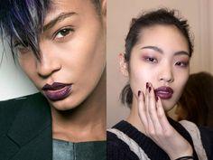Trucco viola: il più magnetico dei colori veste occhi, labbra e unghie
