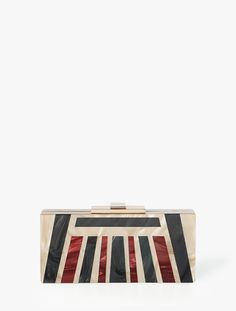 Halston - Rectangular Box Minaudière