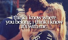 You Belong With Me by Taylor Swift <3 ;) <3