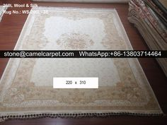 260L wool silk mixed carpet  #carpet#rug#silk#persian#turkey
