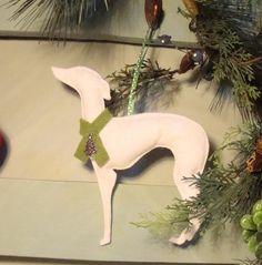 Whippet / Greyhound Decoration