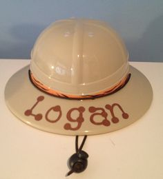 Party Favor - Personalized Safari Hat  Great for Safari Theme Party