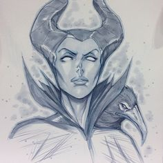 Maleficent by Alvin Lee