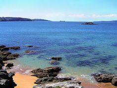 Playa de Perbes en La Coruña